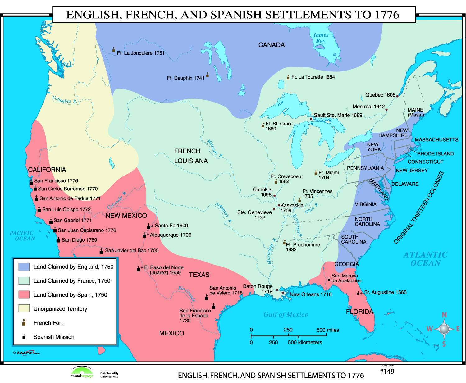 spanish english and french settlements French settlements spoke french and ate french food spanish settlements spoke spanish and ate spanish food.