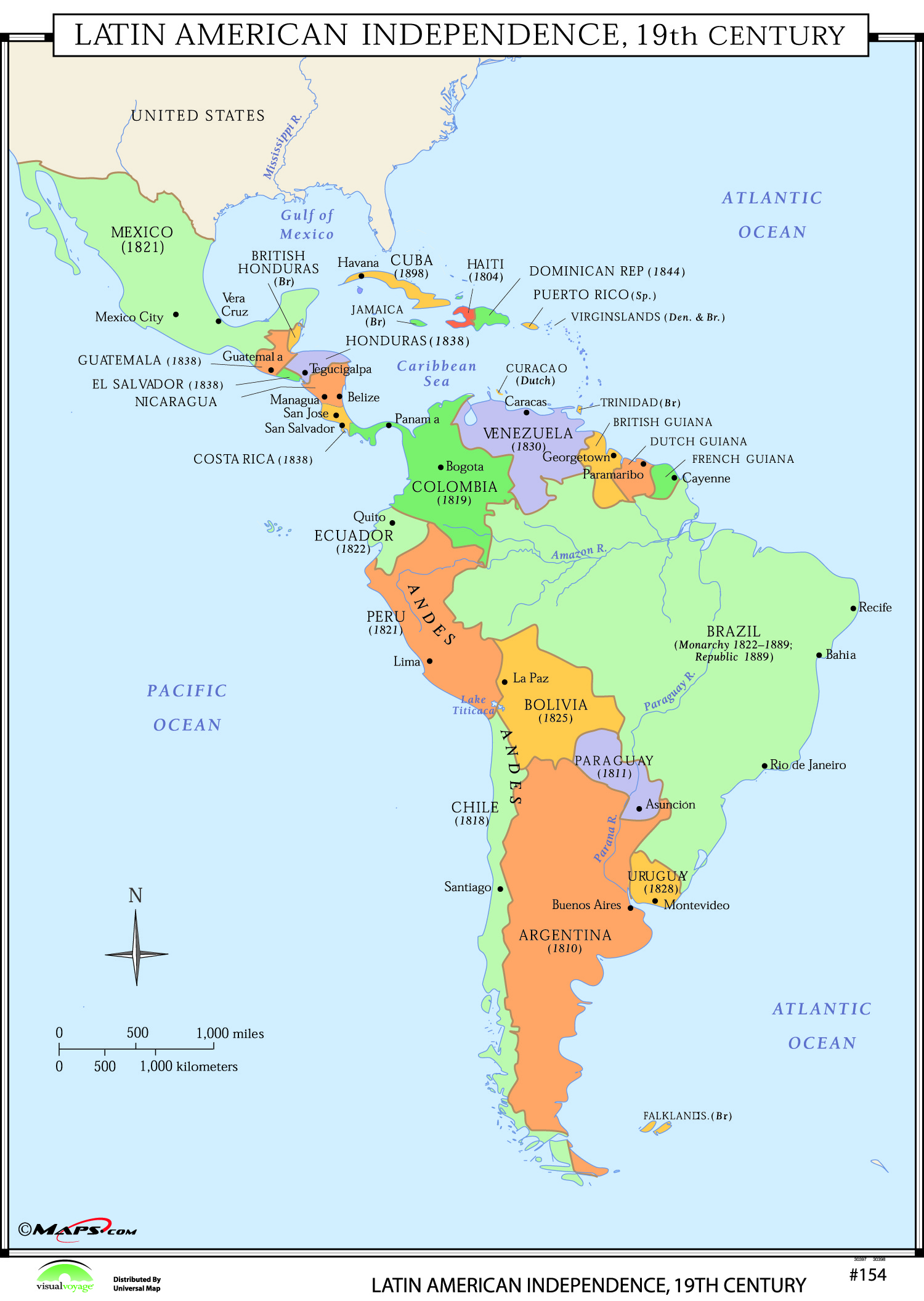 a look into latin american revolutions of the 19th century History of latin america including caudíllos 19th - 20th century: from the 1830s each new latin american republic goes its own way.