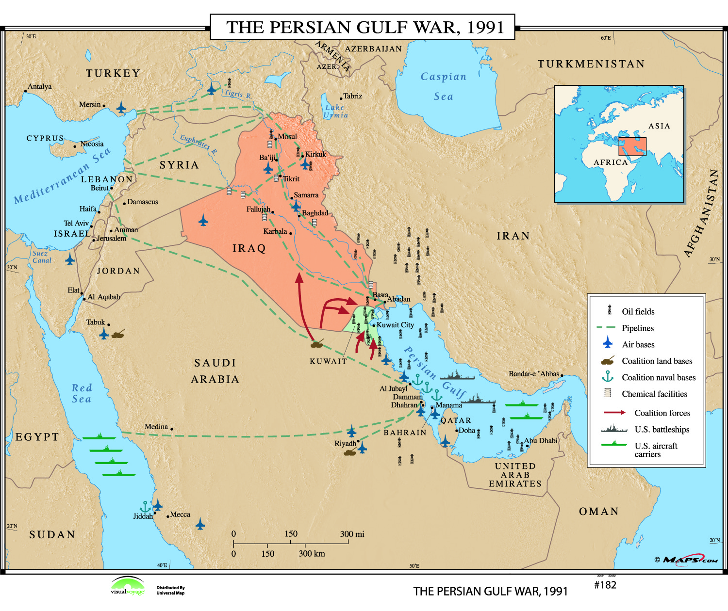 an introduction to the history of the american persian gulf war
